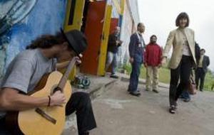 González-Sinde, resignada ante la fuerte caída del presupuesto de Cultura para 2010