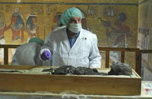 «Tutankamón no era hijo de Nefertiti»