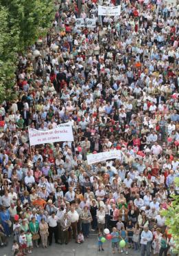 Tres mil cordobeses claman por el derecho de todos a la vida